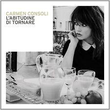 CARMEN CONSOLI - L'ABITUDINE DI TORNARE - CD NUOVO SIGILLATO 2015