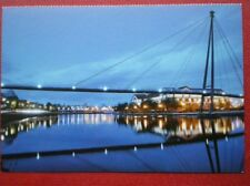 POSTCARD F1-4 DURHAM STOCKTON ON TEES RIVERSIDE AT DUSK