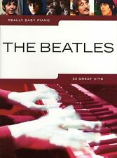 BEATLES Really Easy Piano 23 POP Songs Sheet Music Book Hey Jude HELP Let It be