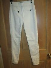 NEW✿ Free People LADIES 25 SKINNY JEANS PANTS $78 Retail White Jeggings