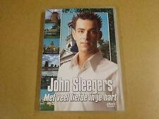 MUSIC DVD / JOHN SLEEGERS - MET VEEL LIEFDE IN JE HART