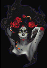 "Voodoo Woman Counted Cross Stitch Kit 15"" X 21"" 14ct"