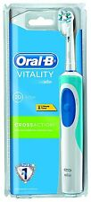 Genuine Oral-B Pro Vitality Cross Action Electric Rechargeable Toothbrush NEW UK