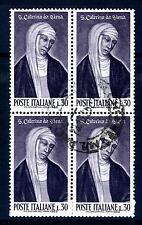ITALIA REP. - 1962 - 500° della canonizzazione di S. Caterina da Siena