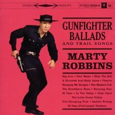 MARTY ROBBINS GUNFIGHTER BALLADS AND TRAIL SONGS 3 EXTRA TRACKS REMASTER CD NEW