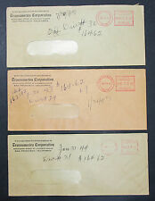 Transamerica Corporation Set of 3 US Stamps Covers Letter ADV USA Brief (H-7441+