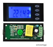 AC Digital LED power meter monitor Voltage KWh time watt energy Volt Ammeter New