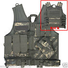 Army Digital ACU Camouflage Cross Draw Load Bearing Tactical Vest Chest Rig