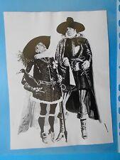 fotografie archivio giornale dello spettacolo cinema louis de funes yves montand