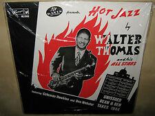 WALTER THOMAS Hot Jazz Unissued Bean Ben Takes COLEMAN HAWKINS WEBSTER SEALED LP