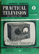 Practical Television Magazine - June 1955 - A TV Signal Generator, TRF Receivers
