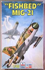 Esci 1/48 MiG-21 Fishbed  *Vintage* Plastic Model Kit