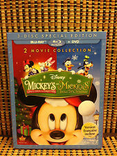 Mickey's Once/Twice Upon a Christmas (Blu-ray, 2014)Disney/Family/Kids/Animated