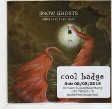 (GF524) Snow Ghosts, Circles Out Of Salt - 2015 DJ CD