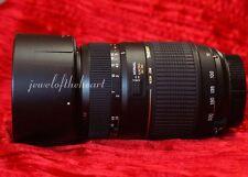 Exc Tamron 70-300mm DI Macro Zoom Lens for Nikon D60 D3000 D3100 D3200 D510