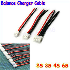 10x 3S1P Connector Adapter Lipo Battery plug Balance Changer Wire Charger Cable