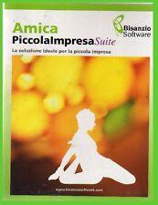 amica PICCOLA IMPRESA suite COMPLETO07 pc cdrom office/negozio NUOVO contabilità