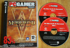 THE ELDER SCROLLS III 3 MORROWIND for PC COMPLETE PC Gamer
