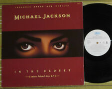 "MICHAEL JACKSON, IN THE CLOSET MIXES BEHIND DOOR No2, 12"" EP 1991 HOLLAND EX/VG"