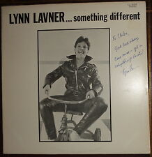 LYNN LAVNER - Something Different - LP -  Signed / Autographed LL-92329 1983