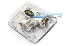 STINGER POWER / GROUND 0 GAUGE AWG CAR STEREO AMP WIRE DISTRIBUTION BLOCK 0G