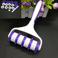High Fondant Strip Ribbon Cutter Embosser Roller Sugarcraft Cake Decorating Tool