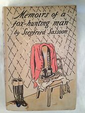 Siegfried Sassoon - Memoirs of a Fox Hunting Man - SIGNED Limited Edition in DW