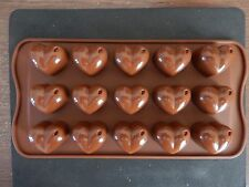 Silicone Valentines Heart Shape Mould Cake Decoration/Chocolate/Baking/Ice