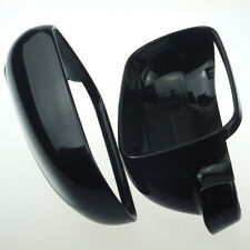 Wing Mirror Cover Pair Driver & Passenger For VW GOLF BORA MK4 1996-2004 Black