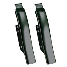 Black Fender-Saddlebag Filler Panels Black for 1997-2008 Harley-Davidson Touring
