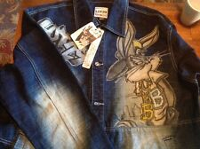 Lot 29 Denim Jacket Bugs Bunny and Friends Characters - Size XL