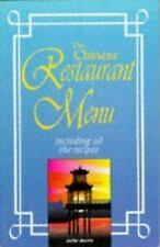 The Chinese Restaurant Menu Recipes by Sallie Morris (1996, Paperback)