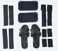 NEW Accessories Bundle for Mini TENS Electronic Body Massager Belt/Shoes/Bands