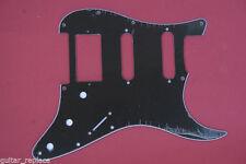 Golpeador Negro Pickguard Stratocaster 3 Capas HSS Humbucker Salvapuas