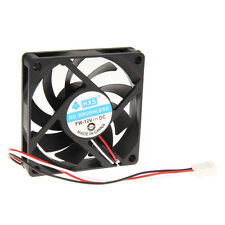 12V 3Pin 7cm 70mm 70x70x15mm Brushless Computer Case Cooler PC CPU Cooling Fan