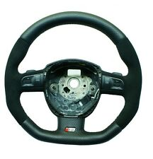 Steering Wheel AUDI A3/S3 A4/S4 A5/S5 A6/S6 Q7 FLAT BOTTOM ! SPORT MODIFIED RS5
