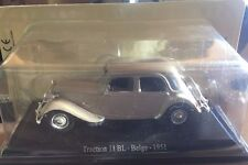 "DIE CAST "" TRACTION 11 BL -BELGE - 1951 "" CITROEN ATLAS  1/43"