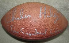 NFL Charles Haley Signed Autographed Football 5 Time Superbowl Champ Inscribed