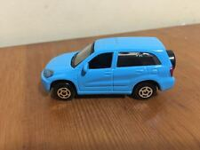 Die cast Car Toyota RAV4 Sports Scale 1:64 Model Free Rolling Wheels Blue