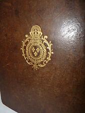 Araldica Statuti Legatura alle Armi Borboni - Chevaliers Ordre Saint Esprit 1733