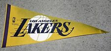 Los Angeles Lakers Vintage Felt Pennant - Large 30 Inch Long