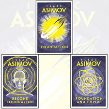 The Foundation Trilogy 3 Books Set By Isaac Asimov Foundation and Empire