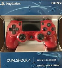 Official Sony PlayStation 4 PS4 Dualshock 4 Wireless Controller Magma Red New