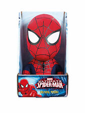 "MARVEL SPIDERMAN TALKING MEDIUM PLUSH 9"" BRAND NEW IN BOX GREAT GIFT"