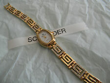 Premier Designs OLYMPIA gold crystal watch gorgeous RV $79 FREE ship w/bin