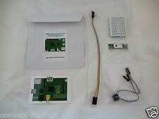 Wireless Internet Doorbell/Drive Alarm GPIO 433MHz project for Raspberry Pi. IoT