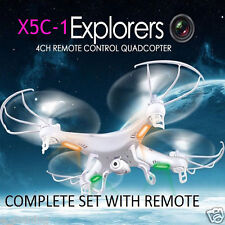 NEW Syma X5C-1 Explorers 2.4GHz 4CH 6 Axis Gyro RC Quadcopter With HD 2MP Camera