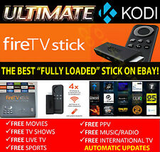 Amazon Fire TV STICK - MOVIES SPORTS KIDS ADULT XXX  Ultimate Kodi Fully loaded
