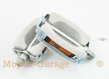 Zündapp Combinette Super Cyclomoteur original Union Pédale Paire Blanc Neuf