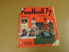 PANINI ALBUM FOOTBALL 77 / NOT COMPLETE